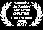 2017 Something Like Sunshine Best Actor White Laurels CFF